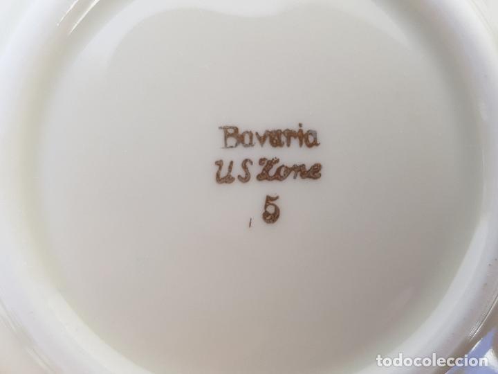 Antigüedades: BANDEJA EN PORCELANA DE BAVARIA SELLADA - Foto 7 - 140035934