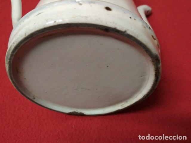 Antigüedades: ANTIGUA CAFETERA ESMALTADA - Foto 3 - 140035958