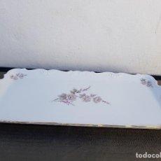 Antigüedades: BANDEJA EN PORCELANA DE BAVARIA SELLADA. Lote 140037890