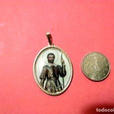 Antigüedades: ANTIGUA MEDALLA RELIGIOSA SAN ISIDRO BUENAS COSECHAS. Lote 146773798