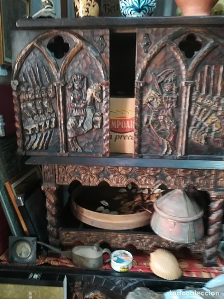 Antigüedades: Antiguo mueble bargueño - Foto 3 - 140042330