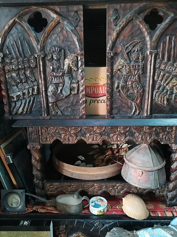 Antigüedades: Antiguo mueble bargueño - Foto 4 - 140042330