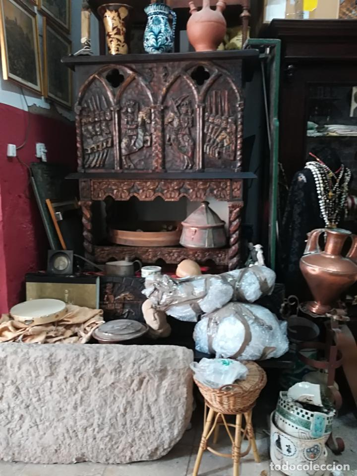 Antigüedades: Antiguo mueble bargueño - Foto 5 - 140042330