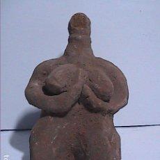 Antigüedades: ANTIGUO ÍDOLO DE LA FERTILIDAD EN TERRACOTA. 6100-5400 A.C. TELL HALAF. SIRIA.. Lote 140043846