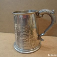 Antigüedades: JARRA DE PLATA INGLESA. Lote 140053038