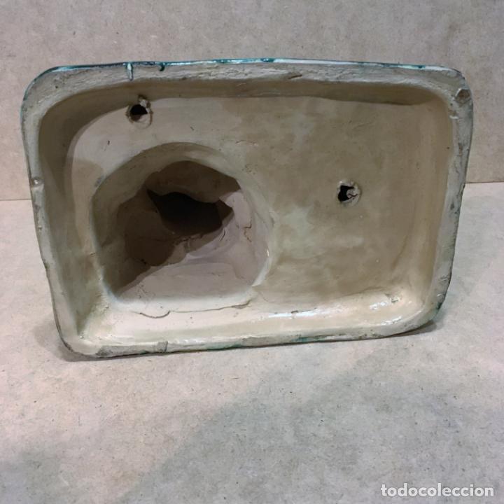 Antigüedades: Santa Ana y la Vírgen Niña de cerámica de Triana - Foto 4 - 140053774