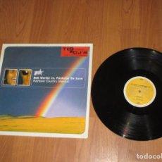 Discos de vinilo: BOB MARLEY VS FUNKSTAR DE LUXE - RAINBOW COUNTRY REMIX -GERMANY - HYPNOTIC RECORDS - IBL - . Lote 140072902