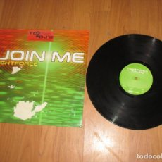 Discos de vinilo: LIGHTFORCE - JOIN ME - MAXI - SPAIN - INSOLENT RECORDS - IBL - . Lote 140073854