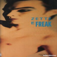 Discos de vinilo: ZETTE- LE FREAK/ TRY - LP MAXISINGLE QMI MUSIC DE 1987 ,RF-6801. Lote 140084866