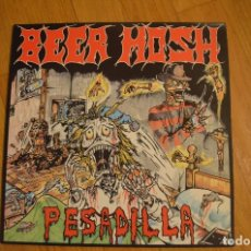 Discos de vinilo: BEER MOSH -PESADILLA LP VINILO. Lote 140048778