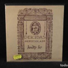 Discos de vinilo: DEICIDAS - EPISTOLAS / BENDITO BAR - SINGLE. Lote 140107302