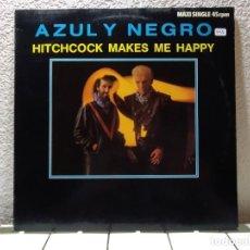 Discos de vinilo: AZUL Y NEGRO. Lote 140109730