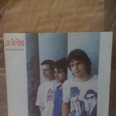 Discos de vinilo: LOS DEL TONOS ?– NADA QUE HACER. PRIMO. 1991. ROCK BLUES.. Lote 140114042