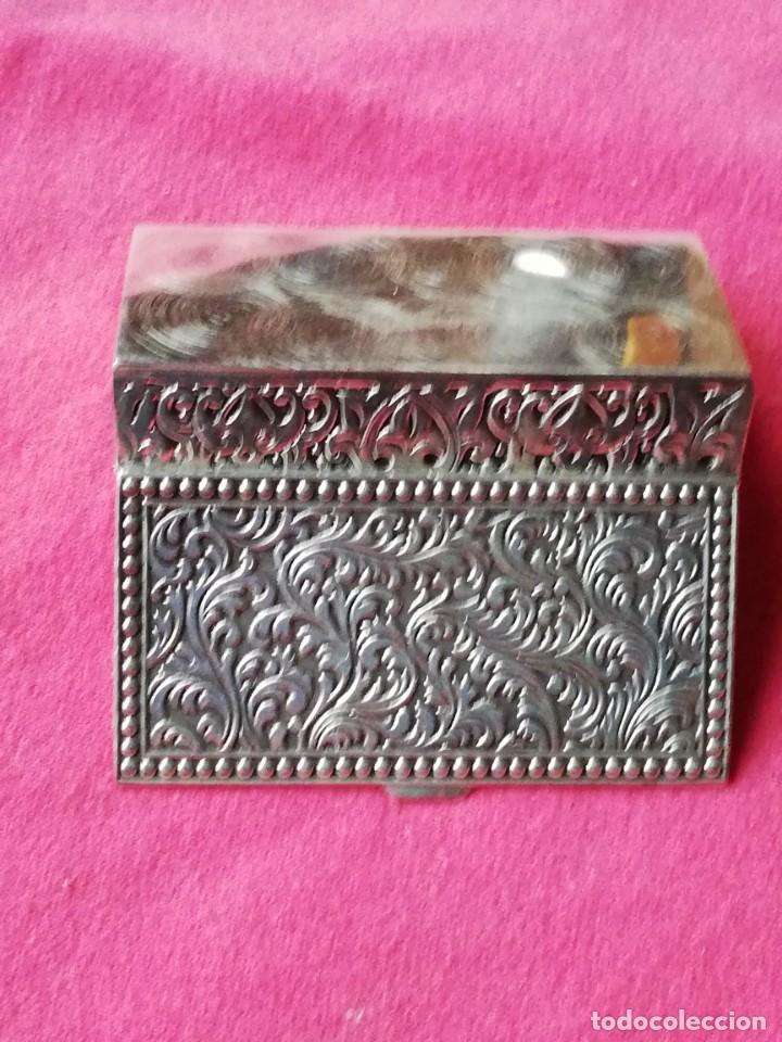 Antigüedades: Caja de Alpaca - Foto 8 - 140126546