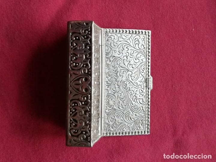 Antigüedades: Caja de Alpaca - Foto 10 - 140126546
