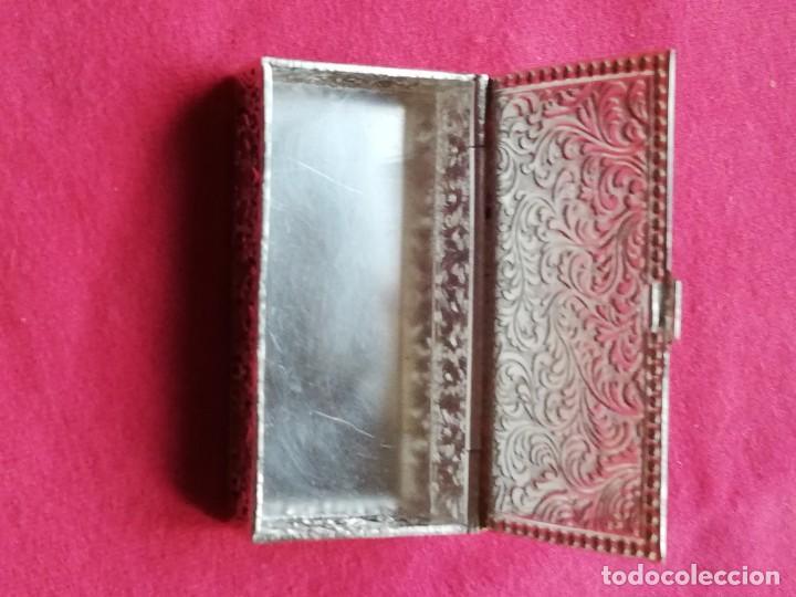 Antigüedades: Caja de Alpaca - Foto 11 - 140126546