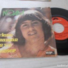Discos de vinilo: NOAM. VIENS MAMAN ON VA DANSER. Lote 140134730