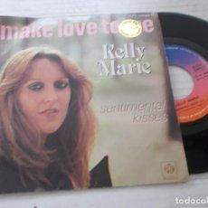 Discos de vinilo: KELLY MARIE. MAKE LOVE TO ME. Lote 140135070