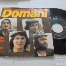 Discos de vinilo: DOMANI. ITALIAN VERSION BY DOMANI. COME SEI PULITA. Lote 140137786
