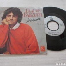 Discos de vinilo: CLAUDE BARZOTTI. MADAME.. Lote 140139330