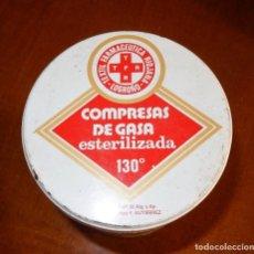 Antigüedades: CAJA METAL GASAS. Lote 140148534