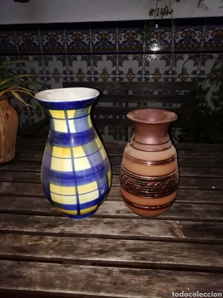 DOS JARRONES (Antigüedades - Hogar y Decoración - Otros)