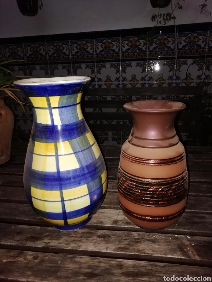 Antigüedades: Dos jarrones - Foto 2 - 140148760