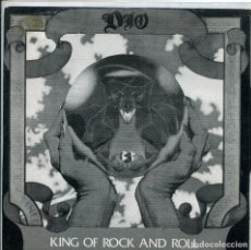 Discos de vinilo: DIO / KING OF ROCK AND ROLL / SACRED HEART (SINGLE 1986). Lote 140160722