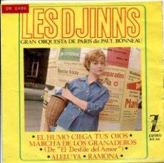 Discos de vinilo: LES DJINNS / MARCHA DE LOS GRANADEROS + 3 (EP 1964). Lote 140161530