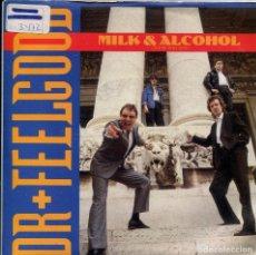 Discos de vinilo: DR. FEELGOOD / MILK & ALCOHOL / SHE'S GOT HER EYES ON YOU (SINGLE 1989). Lote 140165958