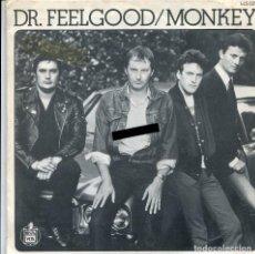 Discos de vinilo: DR. FEELGOOD / MONKEY / RAT RACE (SINGLE 1983). Lote 140166938
