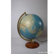 Antigüedades: ANTIGUO GLOBO TERRÁQUEO ESFERA BOLA ALEMANA. Lote 140185830