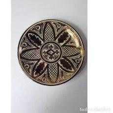 Antigüedades: ANTIGUO PLATO DE REFLEJOS DE CERÁMICA. Lote 140190726