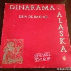 Discos de vinilo: ALASKA Y DINARAMA - DEJA DE BAILAR - MAXI SINGLE.12 . Lote 140197314