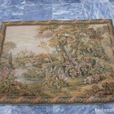 Antigüedades: PRECIOSO TAPIZ GOBELINO (FRANCES). Lote 140199702