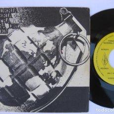 Discos de vinilo: PANADERIA BOLLERIA NUESTRA SEÑORA DEL CARMEN / TDK - EP ORIGINAL EDITADO EN MUSIKRA RECORDS EN 1984. Lote 140207614