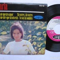 Discos de vinilo: MARIA - EP SPAIN PS - EL FIN DE NUESTRO AMOR * VOQUE * AÑO 1965. Lote 140208054