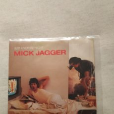 Discos de vinilo: MICK JAGGER. JUST ANOTHER NIGHT. Lote 140209066
