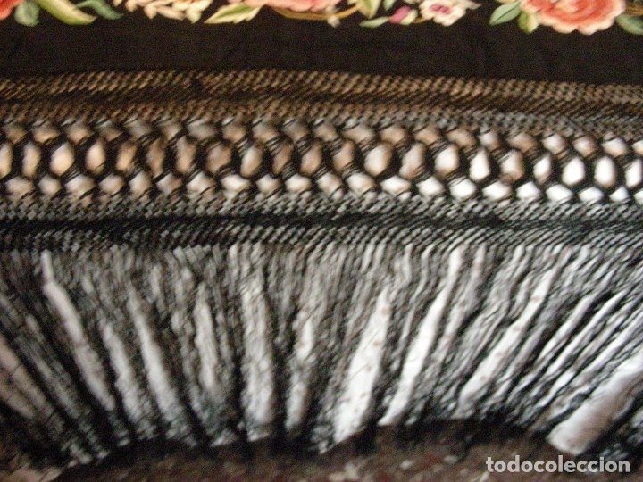 Antigüedades: MANTON DE MANILA,ANTIGUO INDUMENTARIA - Foto 11 - 140227394