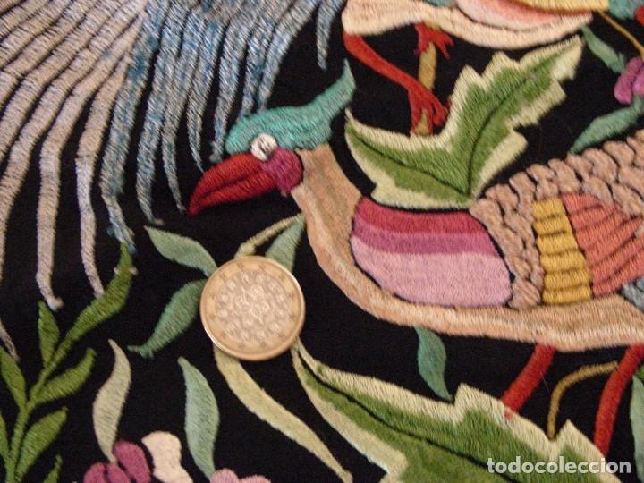Antigüedades: MANTON DE MANILA,ANTIGUO INDUMENTARIA - Foto 15 - 140227394
