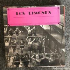 Discos de vinilo: LIMONES - TE VOY SIGUIENDO - MAXISINGLE GASA 1989. Lote 140231282