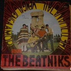 Discos de vinilo: DISCO VINILO SINGLE THE BEATNIKS. Lote 140237298