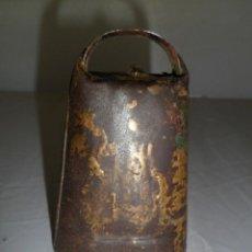 Antigüedades: CENCERRO DE METAL. CAMPANO. 9 CMS.. Lote 140245138
