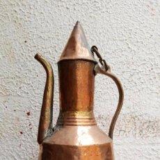 Antigüedades: JARRA DE COBRE. Lote 140276542