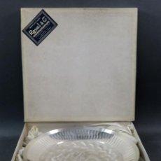 Antigüedades: FUENTE CENTRO DE MESA EN METAL PLATEADO WMF IKORA GERMANY ROYAL & CO MADRID SIGLO XX. Lote 140278490