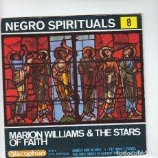 Discos de vinilo: NEGRO SPIRITUALS: MUSICA NEGRA- GOSPEL- MUY NUEVO SIN USO. Lote 140278710