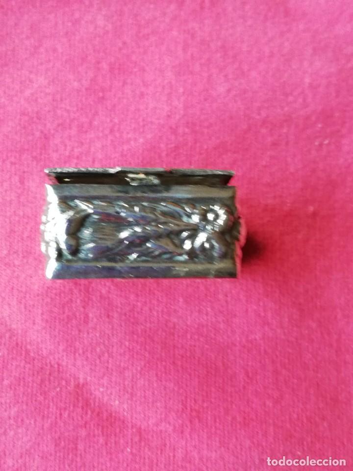 Antigüedades: Caja de Alpaca - Foto 3 - 140283642