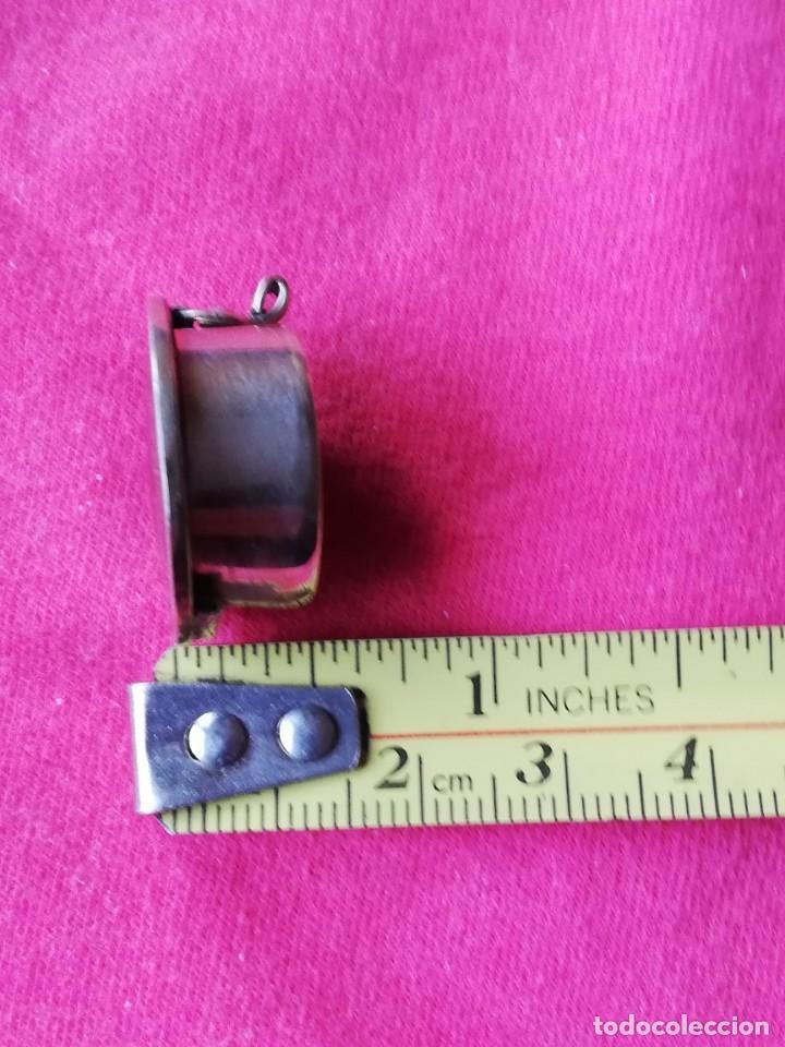 Antigüedades: Caja de Alpaca con incrustaciones de nacar y piedras semipreciosas - Foto 2 - 140283790