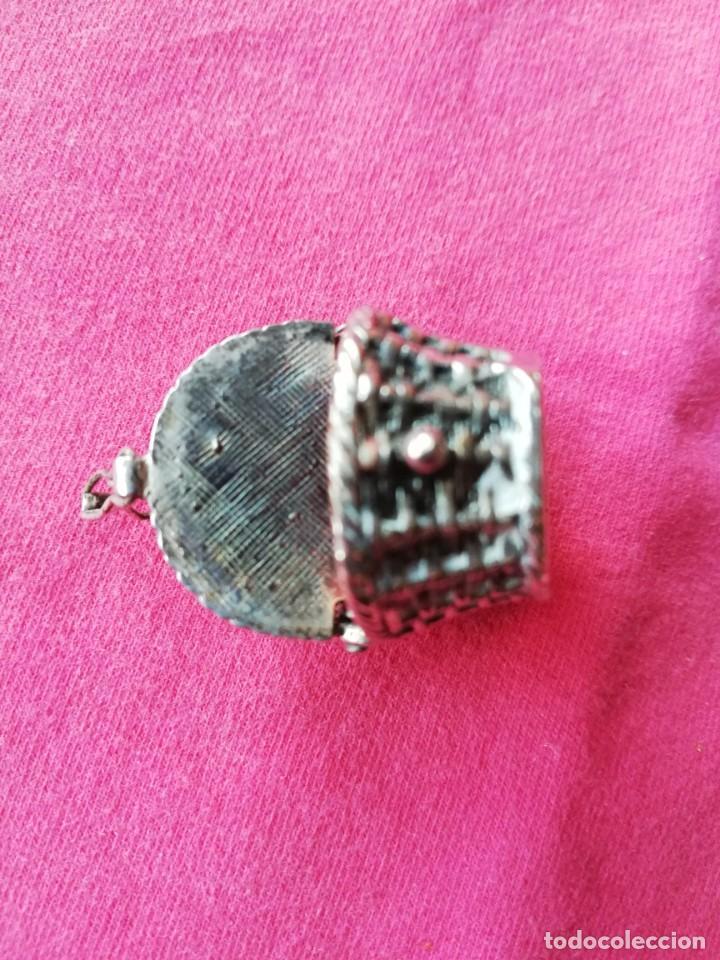 Antigüedades: Caja Cesta de Alpaca - Foto 10 - 140284898