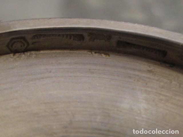 Antigüedades: 137,3 GRAMOS - PEQUEÑO CALIZ O COPA DE PLATA MACIZA CONTRASTADA Y TESTADA. RECUERDO DE MADRID - Foto 2 - 140287058
